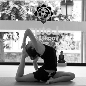 Edith Sansegundo Lotuz Yogastudio